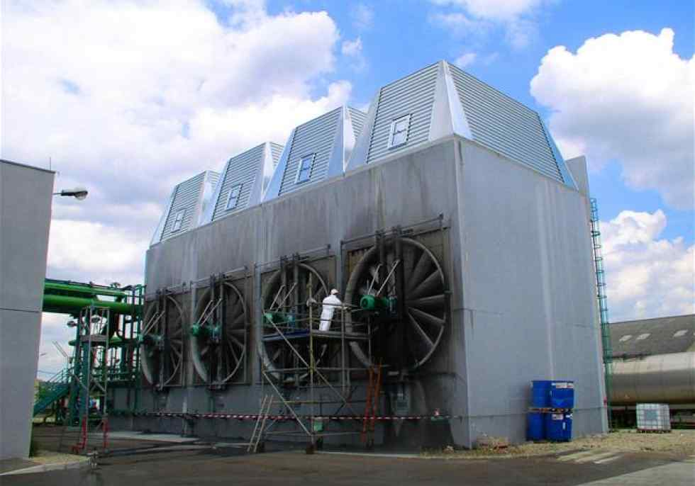 Open Cooling Tower Clean Water Jacir Gohl Ro