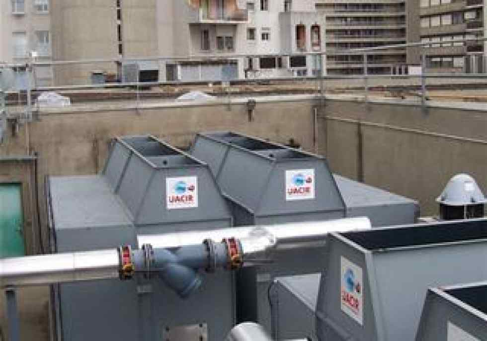 Centrifugal Cooling Tower : Open cooling tower clean water jacir gohl ro